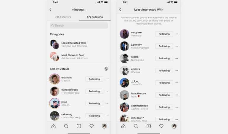 contas do Instagram que aparecem