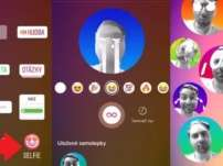 Instagram está testando um novo conjunto de adesivos de selfie animados para histórias