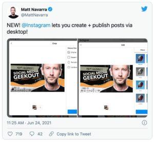 como publicar no instagram pelo desktop